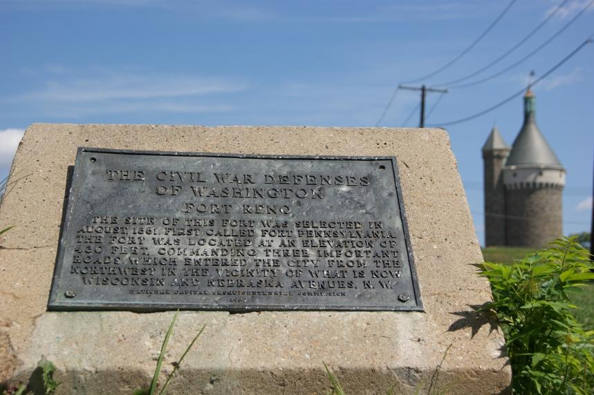 Fort Reno marker