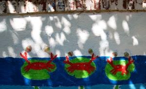 Van Ness Mural - crabs dancing