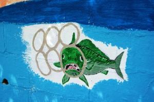 Van Ness Mural - fish