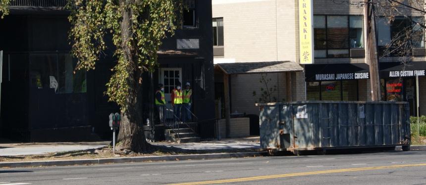 Demolition Begins at Former Babe's Billiards Site