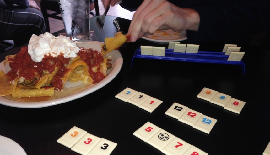 Nachos and Rummikub b