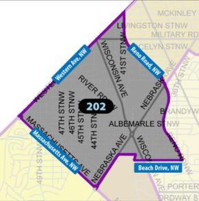 PSA 202 Map