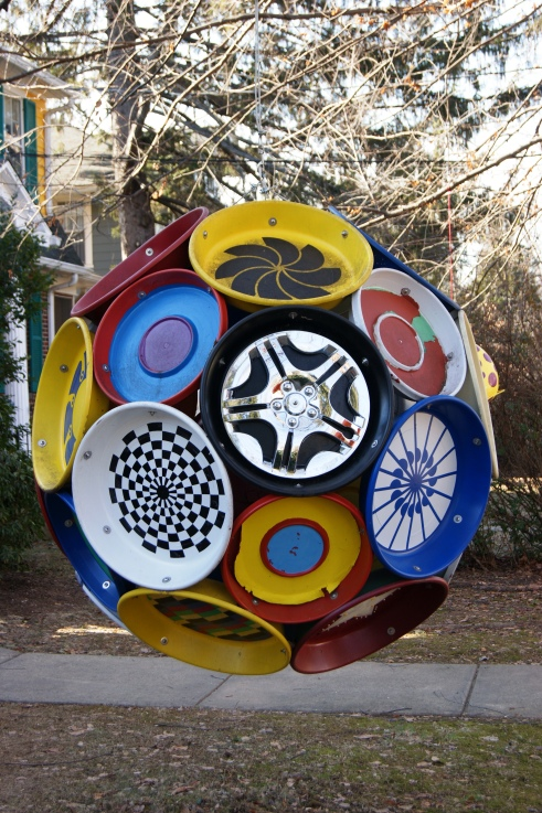 Charlie Maiorana sculpture