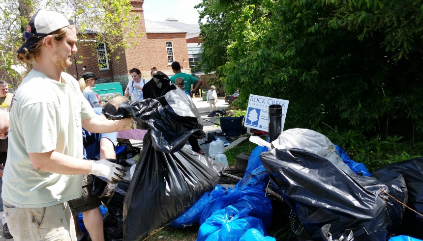 Rock Creek Clean Up May 2014