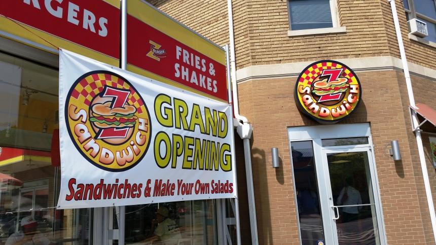 Z Sandwich Grand Opening