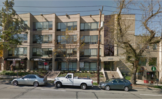 Massage Envy Spa hopes to open at 4620 Wisconsin Ave. - image courtesy of Google Maps