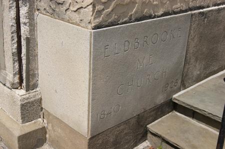 Eldbrooke Methodist Church cornerstone