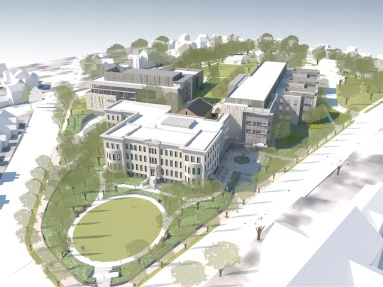 Washington College of Law rendering