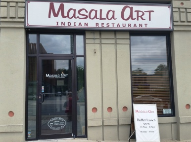 Masala Art entrance2