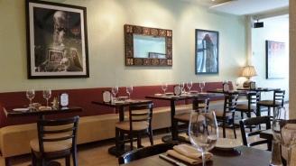 Masala Art's soothing, stylist interior