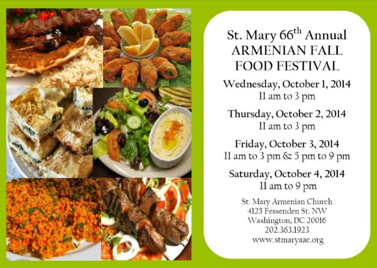 Armenian Food Festival