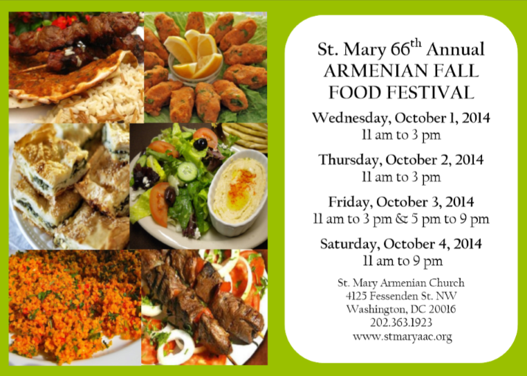 A taste of armenia in tenleytown tenleytown d c for Armenian cuisine history