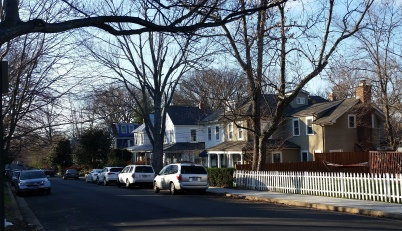 This section of Alton Place used to be called Robeyville