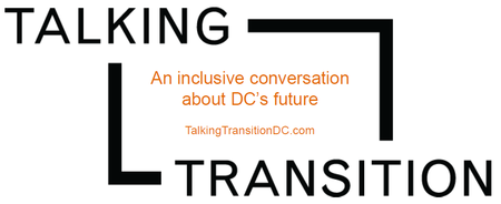 Talking Transitions DC Logo