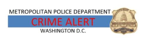 MPD Crime Alert