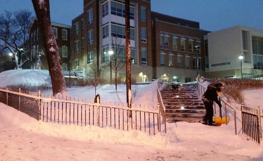 Janney Snow Shoveling