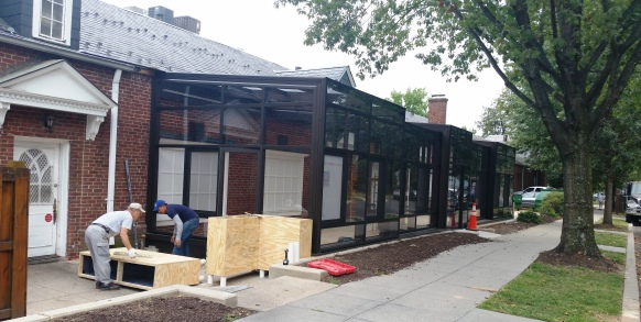 Wagshal's plans to open new outdoor patio in October.