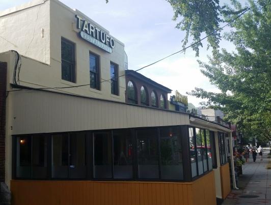 Italian restaurant Tartufo opened this week at 4910 Wisconsin Avenue.