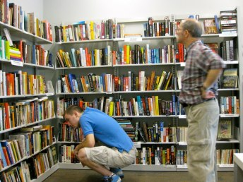 The Tenley-Friends' well-stocked book room is on the 2nd Floor of the library.