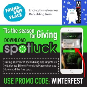 Spotluck WinterFest Promo