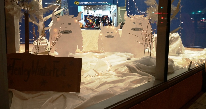 WinterFest 2015 Window Display